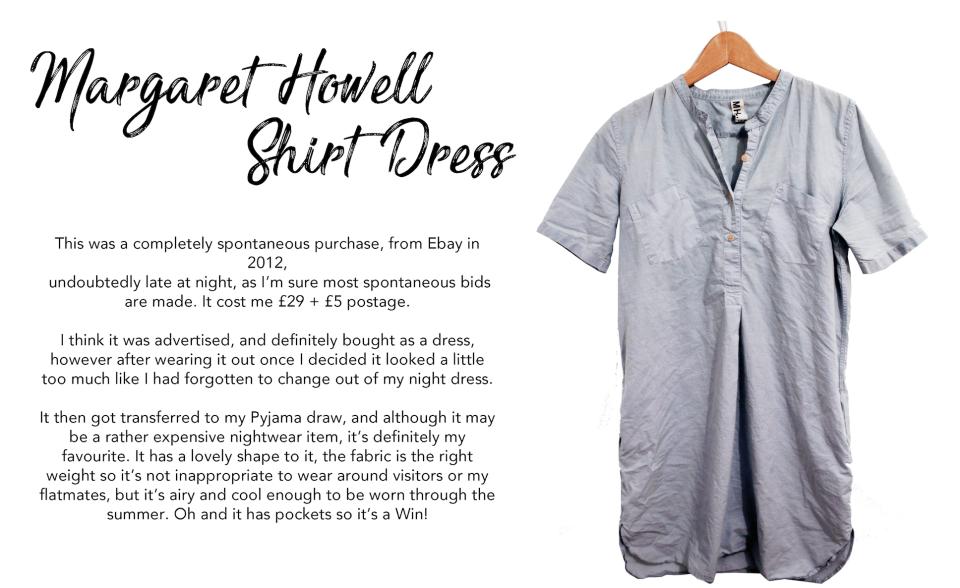 Margaret howell shirt dress