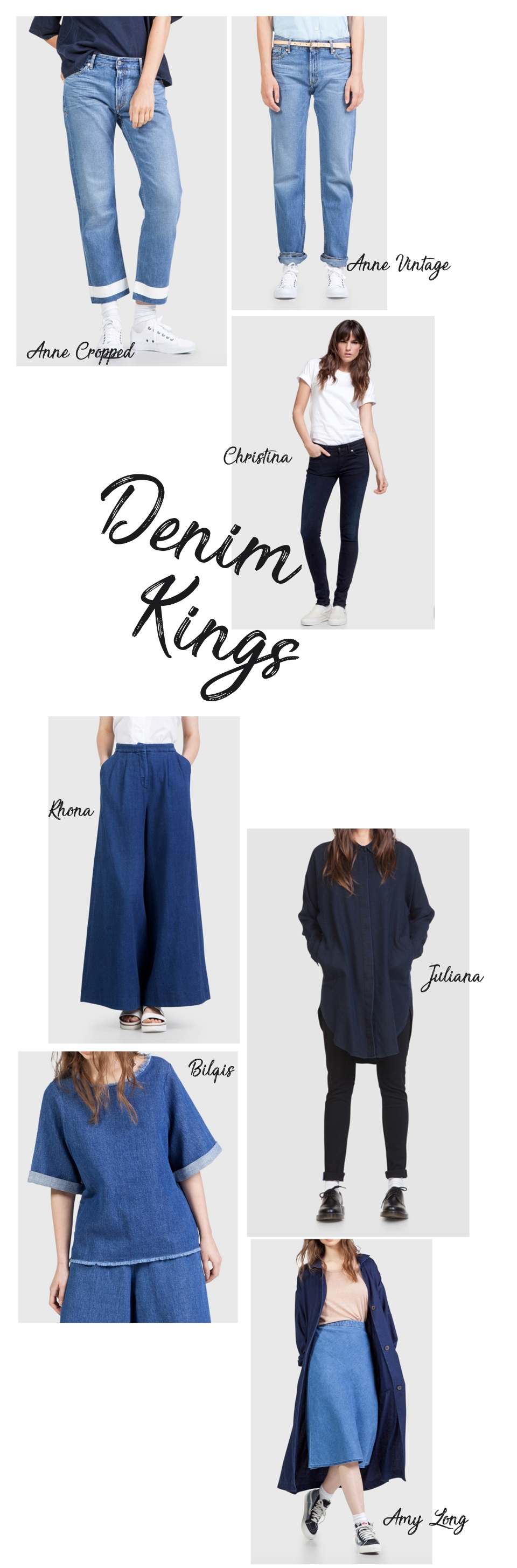 kings of denim womens round up