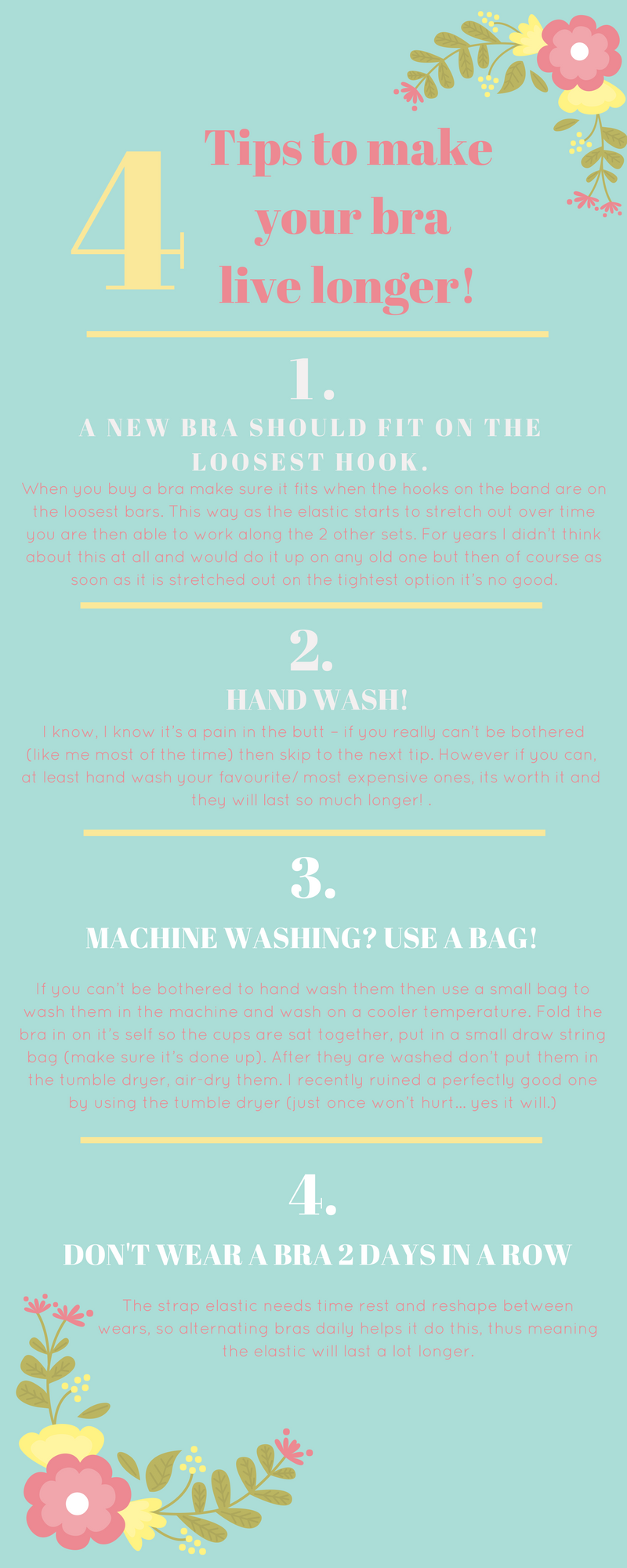 studio ciy ethical sustainable blog take care of your bra info graph