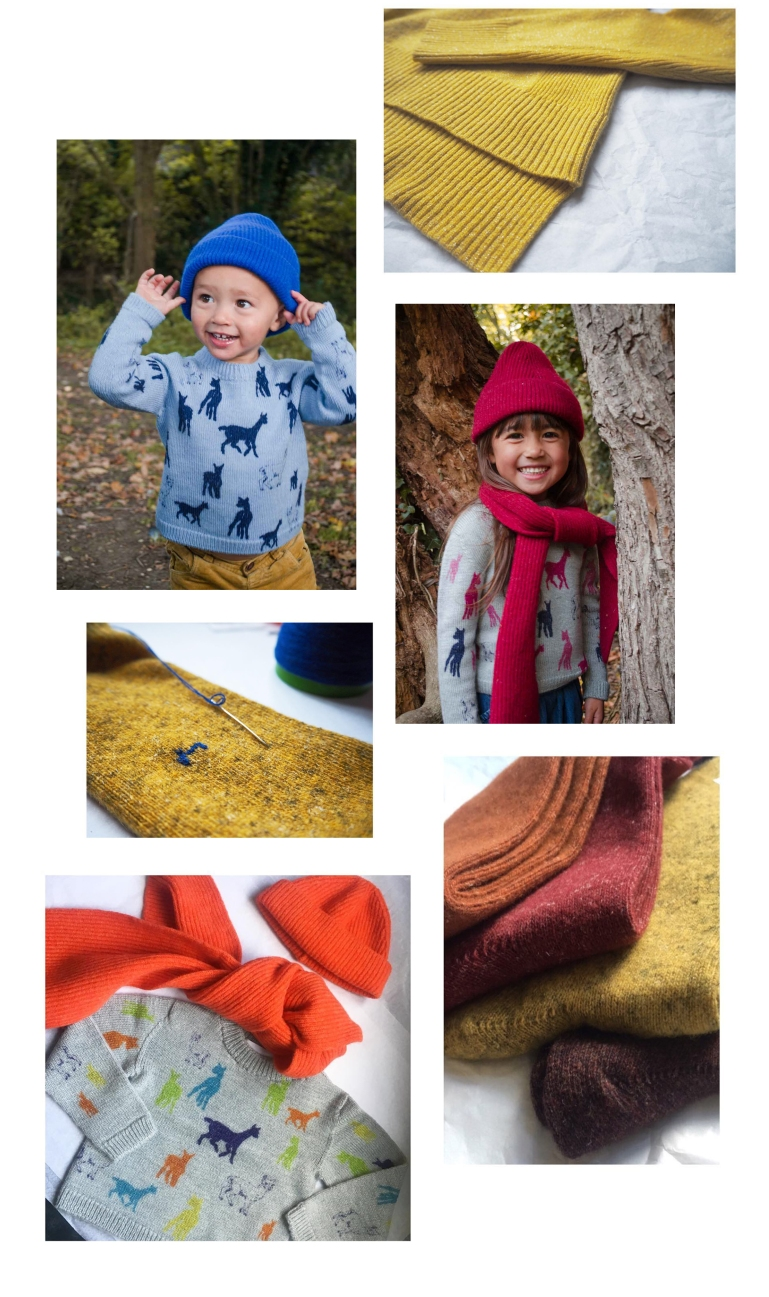GS knitwear kids and socks